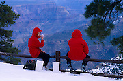 No. Rim Nordic Ctr.: Skiers eating, Point Imperial, Grand Canyon National Park, Arizona..Media Usage:.Subject photograph(s) are copyrighted Edward McCain. All rights are reserved except those specifically granted by McCain Photography in writing...McCain Photography.211 S 4th Avenue.Tucson, AZ 85701-2103.(520) 623-1998.mobile: (520) 990-0999.fax: (520) 623-1190.http://www.mccainphoto.com.edward@mccainphoto.com.
