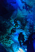 Scuba Diving the Cenotes - Dos Ochos <br /> <br /> Tulum , Mexico Nov 2014