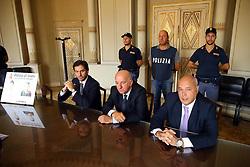 CONFERENZA ARRESTO ASSASSINI PIERLUIGI TARTARI