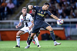 September 1, 2018 - Parma, Italy - Cristiano Ronaldo of Juventus during Serie A match between  Parma v Juventus in Parma, Italy, on September 1, 2018. (Credit Image: © Giuseppe Maffia/NurPhoto/ZUMA Press)