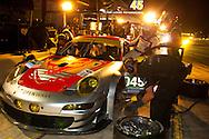 #045 Flying Lizard Motorsports Porsche 911 GT3 RSR: Joerg Bergmeister, Patrick Long, Marc Lieb