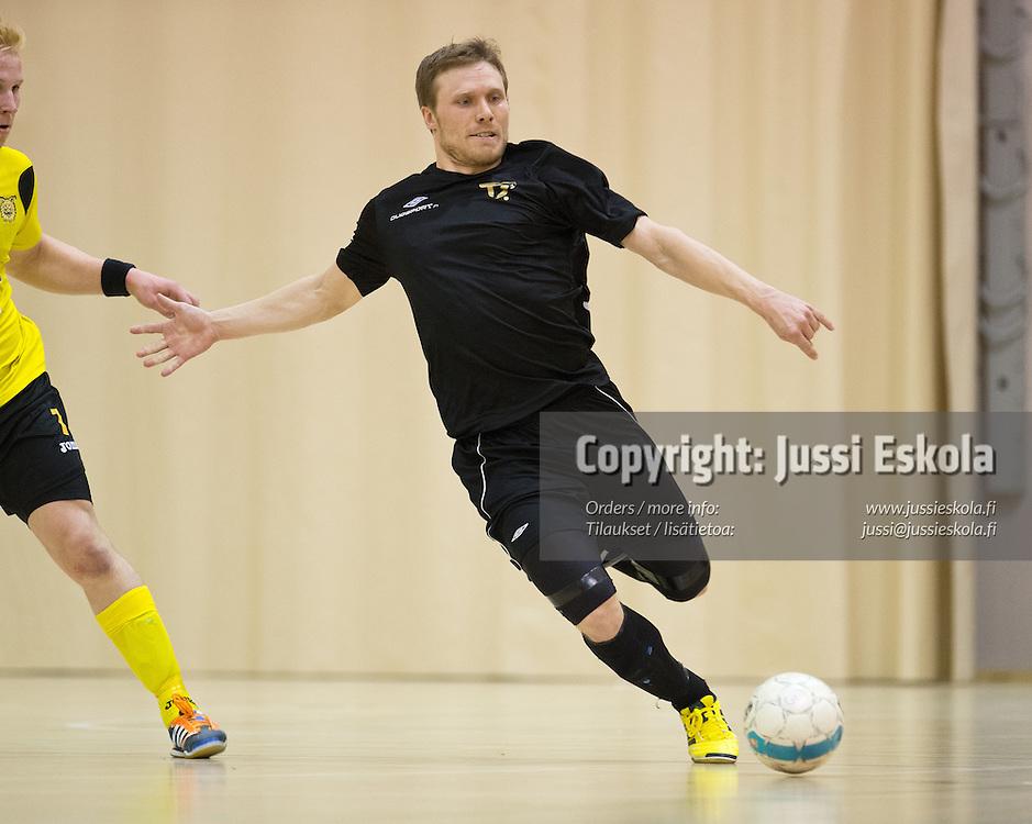 Panu Autio. GFT - Ilves. Futsal. Futsal-liiga. 3. finaali. Espoo 13.4.2013. Photo: Jussi Eskola