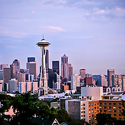 Space Needle tower in Seattle.