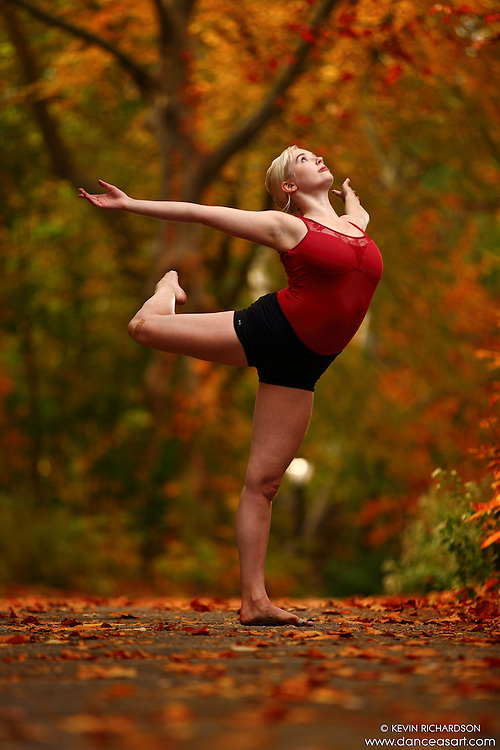 Dance As Art New York City Photography Project Central Park Fall Colors Series with dancer, Alyssa Ness