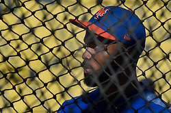 June 20, 2017 - Los Angeles, California, U.S. - New York Mets' Jose Reyes prior to a Major League baseball game against the Los Angeles Dodgers at Dodger Stadium on Tuesday, June 20, 2017 in Los Angeles. (Photo by Keith Birmingham, Pasadena Star-News/SCNG) (Credit Image: © San Gabriel Valley Tribune via ZUMA Wire)