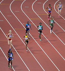 London, 2017 August 07. Women's 400m semi-final on day four of the IAAF London 2017 world Championships at the London Stadium. © Paul Davey.