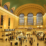 The main concourse at Grand Central Terminal in Manhattan, New York, USA. 29th January 2013. Photo Tim Clayton