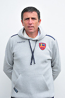 Thierry Laurey - 24.10.2014 - Portrait Gazelec Ajaccio - Ligue 2 -<br /> Photo : Philippe Le Brech / Icon Sport