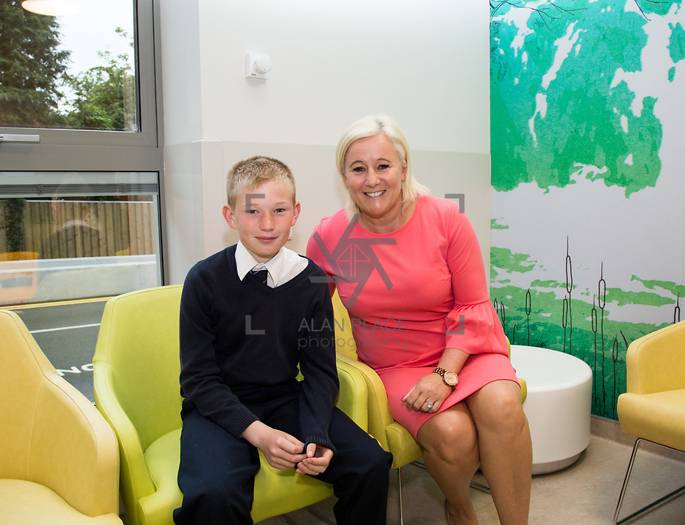 29.05. 2017.                                             <br /> IRELAND&rsquo;S largest and most advanced Emergency Department has opened this Monday at University Hospital Limerick.<br /> <br /> UHL CEO Colette Cowan welcomed the first boy, paediatric patient to the new Emergency Department, Cathal O'Donoghue, 12, KIlmallock Co. Limerick.<br /> <br /> <br /> <br /> A &euro;24 million project (development and equipment costs), the ED spans 3,850 square metres of floor space, over three times the size of the old department. In 2016, UHL had the busiest ED in the country, with over 64,000 attendances. Picture: Alan Place
