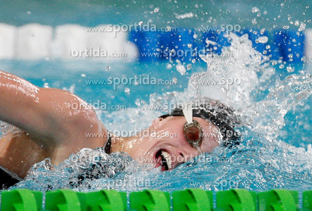 Swimmer Nina Cesar at International Swimming Championship of Kranj 2007, on June 10, 2007, in Kranj, Slovenia. (Photo by Vid Ponikvar / Sportal Images)..