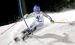 13-01-2015 AUT: Alpine Skiing World Cup, Flachau<br /> Maria Pietilae-Holmner of Sweden in action during 1st run of the ladie's Slalom of the FIS Ski Alpine World Cup at the Hermann Maier Weltcupstrecke in Flachau<br /> ***NETHERLANDS ONLY***