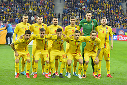 November 14, 2017 - Bucharest, Romania - Romania national team pose before the International Friendly match between Romania and Netherlands at National Arena Stadium in Bucharest, Romania, on 14 november 2017. (Credit Image: © Alex Nicodim/NurPhoto via ZUMA Press)