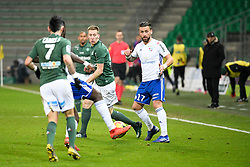 February 13, 2019 - Saint Etienne, France - 27 ROBERT BERIC (ASSE) - 17 ANTHONY GONCALVES  (Credit Image: © Panoramic via ZUMA Press)
