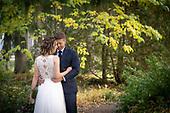 Sarah & Patrick's autumn outdoor wedding in Kitchener's Victoria Park