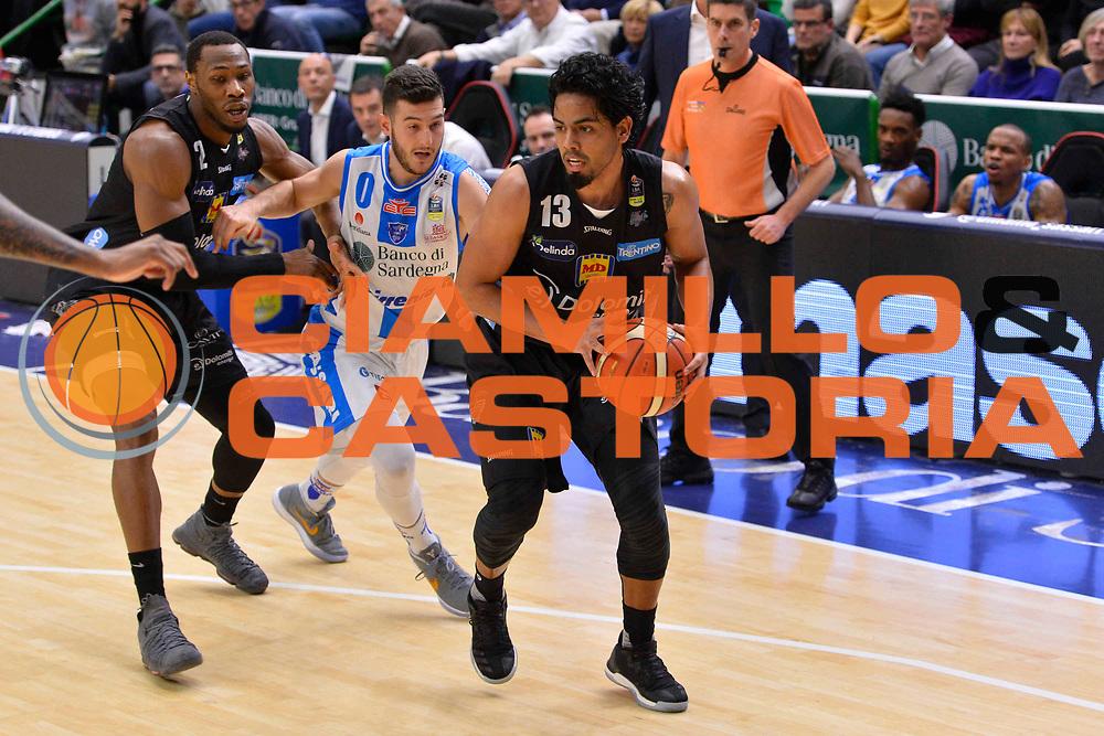 SASSARI 07 GENNAIO 2018<br /> Banco di Sardegna Dinamo Sassari - Dolomiti Energia Aquila Trento<br /> Legabasket Serie A LBA PosteMobile 2017/2018<br /> NELLA FOTO Jorge Gutierrez<br /> FOTO CIAMILLO - Luigi Canu