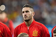 Koke of Spain during the International friendly game football match between Spain and Argentina on march 27, 2018 at Wanda Metropolitano Stadium in Madrid, Spain - Photo Rudy / Spain ProSportsImages / DPPI / ProSportsImages / DPPI
