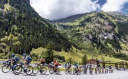 10.07.2019, Fuscher Törl, AUT, Ö-Tour, Österreich Radrundfahrt, 4. Etappe, von Radstadt nach Fuscher Törl (103,5 km), im Bild Peloton an der Mautstation // during 4th stage from Radstadt to Fuscher Törl (103,5 km) of the 2019 Tour of Austria. Fuscher Törl, Austria on 2019/07/10. EXPA Pictures © 2019, PhotoCredit: EXPA/ JFK