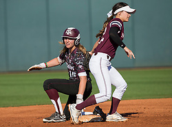 Missouri State vs. Texas A&M in a NCAA softball game Feb. 18th, 2017, in College Station, Texas.