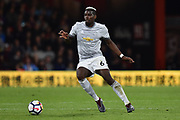 Paul Pogba (6) of Manchester United during the Premier League match between Bournemouth and Manchester United at the Vitality Stadium, Bournemouth, England on 18 April 2018. Picture by Graham Hunt.