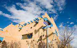 Taos, NM - Kit Carson Road<br />