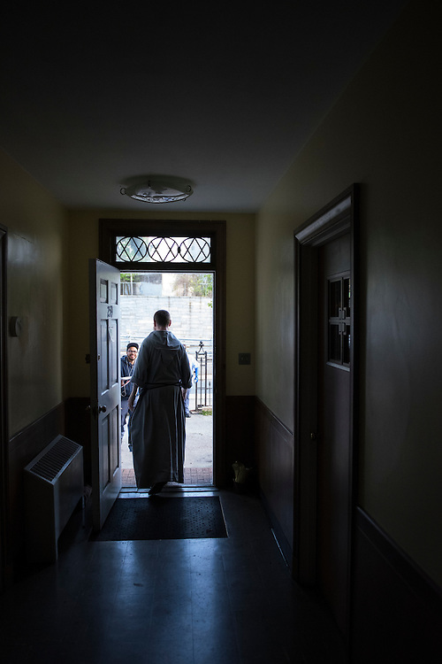 Images from the '24 Hour' Project of Brother Bernardino of the Community of the Franciscan Friars of the Renewal.