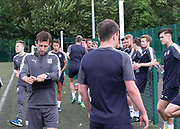 Dundee manager Neil McCann at end of pre-season testing   at University Grounds, Riverside, Dundee, Photo: David Young<br /> <br />  - &copy; David Young - www.davidyoungphoto.co.uk - email: davidyoungphoto@gmail.com