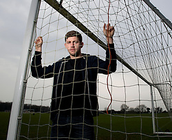 Bristol City Goalkeeper, Frank Fielding  - Photo mandatory by-line: Joe Meredith/JMP - Mobile: 07966 386802 - 20/01/2015 - SPORT - Football - Bristol - Failand Training Ground -  v  -