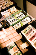 Traditional Japanese sweet shop.