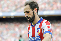 Atletico de Madrid´s Juanfran during 2014-15 La Liga match between Atletico de Madrid and Athletic Club at Vicente Calderon stadium in Madrid, Spain. May 02, 2015. (ALTERPHOTOS/Luis Fernandez)