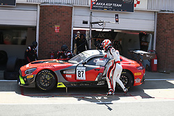 May 6, 2018 - Brands Hatch, Grande Bretagne - 87 AKKA ASP (FRA) MERCEDES AMG GT3 NICOLAS JAMIN (FRA) FELIX SERRALLES  (Credit Image: © Panoramic via ZUMA Press)