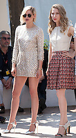 Actress Kristen Stewart and Nora Von Waldstätten at the Personal Shopper film photo call at the 69th Cannes Film Festival Tuesday 17th May 2016, Cannes, France. Photography: Doreen Kennedy