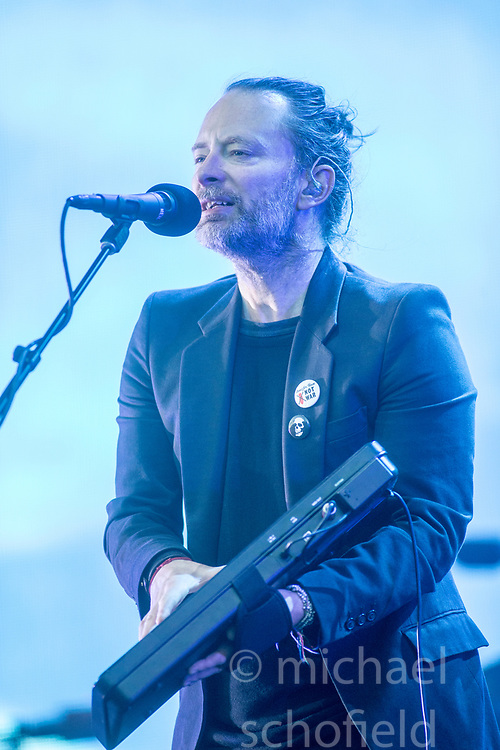 Thom Yorke and Radiohead headline the Main stage on Friday at TRNSMT music festival, Glasgow Green.