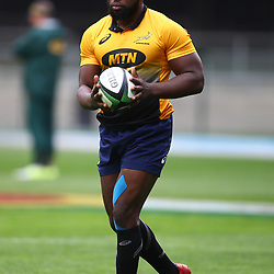 Tendai Mtawarira of South Africa during the South African - Springbok Captain's Run at DHL Newlands Stadium. Cape Town.South Africa. 22,06,2018 23,06,2018 Photo by (Steve Haag JMP)