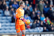 Blackburn Rovers Jason Steele (1) during the EFL Sky Bet Championship match between Blackburn Rovers and Queens Park Rangers at Ewood Park, Blackburn, England on 4 January 2017. Photo by Craig Galloway.