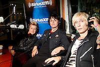 Green Day's Billie Joe Armstrong visits the studios of SiriusXM on September 14, 2012 ..Photo Credit ; Rahav Iggy Segev ..