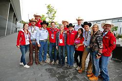 Deutsches Reining Team<br /> Aachen - Europameisterschaften 2015<br /> Reining Finale<br /> © www.sportfotos-lafrentz.de/Stefan Lafrentz