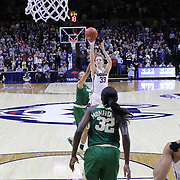 STORRS, CONNECTICUT- NOVEMBER 17: Katie Lou Samuelson #33 of the UConn Huskies shoots while challenged by Alexis Prince #12 of the Baylor Bears during the UConn Huskies Vs Baylor Bears NCAA Women's Basketball game at Gampel Pavilion, on November 17th, 2016 in Storrs, Connecticut. (Photo by Tim Clayton/Corbis via Getty Images)