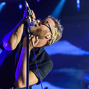 WASHINGTON, DC - December 5th, 2017 - Matt Berninger of The National performs at The Anthem in Washington, D.C.  The band released their  seventh album, Sleep Well Beast, in September. (Photo by Kyle Gustafson / For The Washington Post)