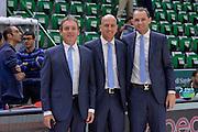 DESCRIZIONE : Beko Legabasket Serie A 2015- 2016 Dinamo Banco di Sardegna Sassari - Enel Brindisi<br /> GIOCATORE : Dino Seghetti Stefano Ursi Manuel Mazzoni<br /> CATEGORIA : Arbitro Referee Before Pregame<br /> SQUADRA : AIAP<br /> EVENTO : Beko Legabasket Serie A 2015-2016<br /> GARA : Dinamo Banco di Sardegna Sassari - Enel Brindisi<br /> DATA : 18/10/2015<br /> SPORT : Pallacanestro <br /> AUTORE : Agenzia Ciamillo-Castoria/L.Canu