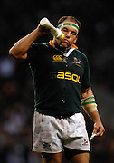 Twickenham, GREAT BRITAIN,  BJ BOTHA, during the, Investec 2006 Rugby Challenge, England vs South Africa, at Twickenham Stadium, ENGLAND on Sat 25.11.2006. [Photo, Peter Spurrier/Intersport-images]