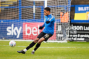 Mansfield Town midfielder Alistair Smith warming up before the match  the EFL Sky Bet League 2 match between Macclesfield Town and Mansfield Town at Moss Rose, Macclesfield, United Kingdom on 16 November 2019.