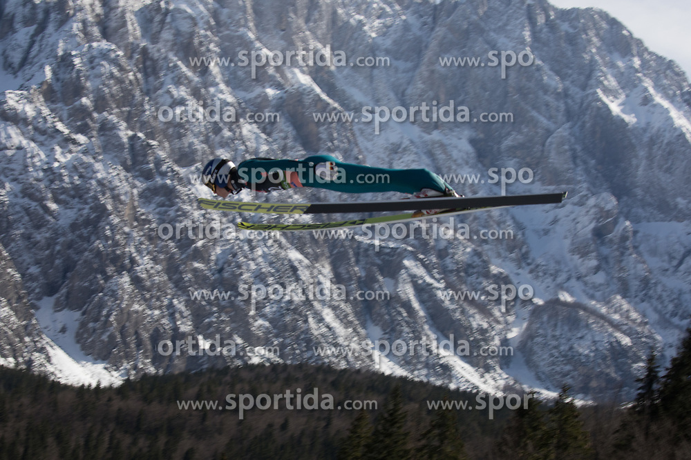 Andreas Wellinger (GER) during the 1st round of the Ski Flying Hill Individual Competition at Day 2 of FIS Ski Jumping World Cup Final 2019, on March 22, 2019 in Planica, Slovenia. Photo Peter Podobnik / Sportida