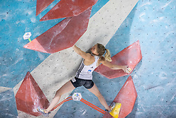 Vita Lukan during training competition of Slovenian National Climbing team before new season, on June 30, 2020 in Koper / Capodistria, Slovenia. Photo by Vid Ponikvar / Sportida
