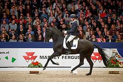 Veeze Bart, NED, Jerveaux<br /> KWPN Stallionshow - 's Hertogenbosch 2018<br /> © Hippo Foto - Dirk Caremans<br /> 02/02/2018