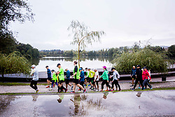 Preparation for Ljubljanski maraton 2017, on Septebmer 16, 2017 in Ljubljana, Slovenia. Photo by Ziga Zupan / Sportida