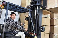 Forklift Driver on Forklift