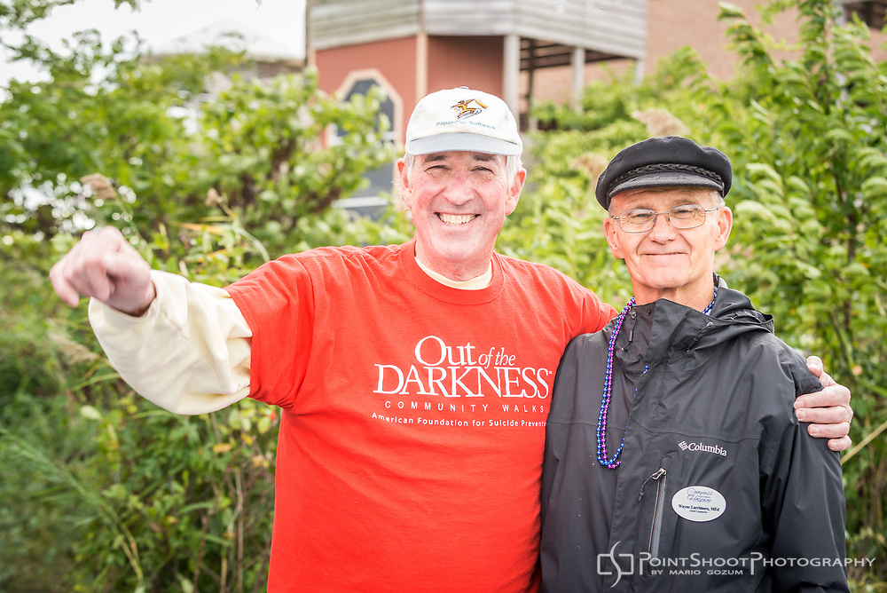 AFSP Mid-Shore Out of the Darkness Community Walk, 9/30/17. Chester, MD.<br />