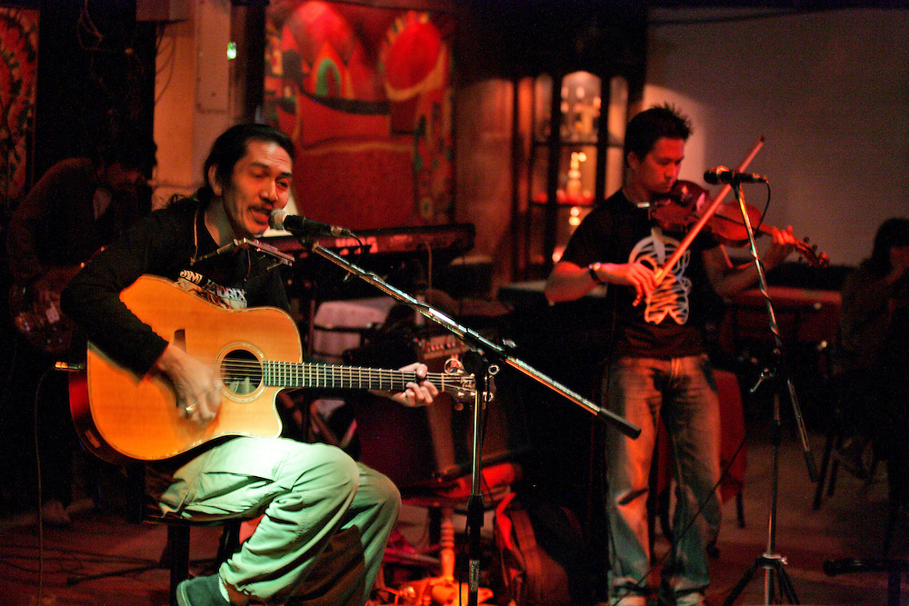 Watchara Charoenpon, better known around town simply as Took (pronounced Tuk) has been Chiang Mai, Thailand's most celebrated Rock 'n Roll guitarist for nearly two decades.<br />