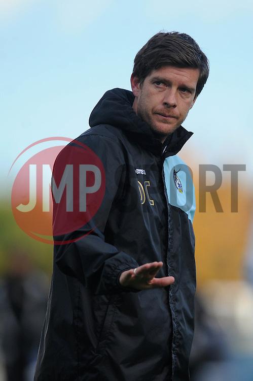 Bristol Rovers Manager Darrell Clarke - Mandatory byline: Dougie Allward/JMP - 07966 386802 - 24/10/2015 - FOOTBALL - Memorial Stadium - Bristol, England - Bristol Rovers v Newport County AFC - Sky Bet League Two