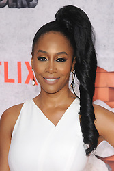 July 31, 2017 - New York, NY, USA - July 31, 2017  New York City..Simone Missick attending Marvel's 'The Defenders' TV show premiere on July 31, 2017 in New York City. (Credit Image: © Kristin Callahan/Ace Pictures via ZUMA Press)